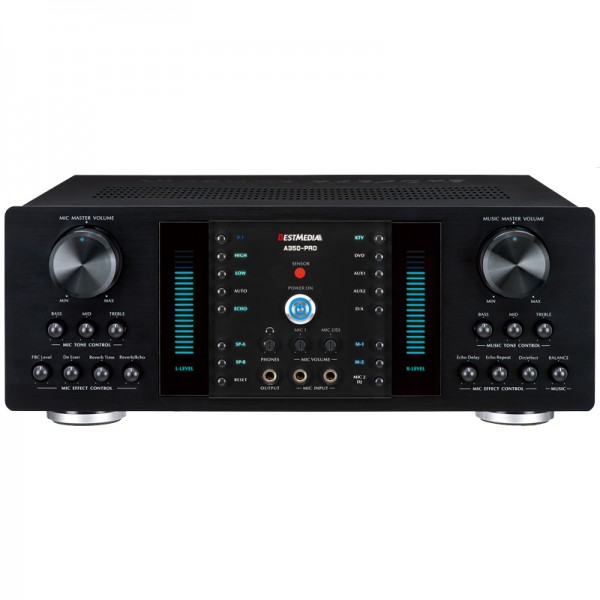 Best Media A350-PRO Digital Echo/ Reverb Mixing Amplifier with Bluetooth (350W x2)