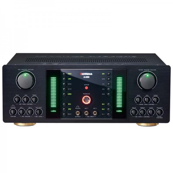 BM-A280 Hi-Power Mixing Amplifer System with Bluetooth (250Wx2)