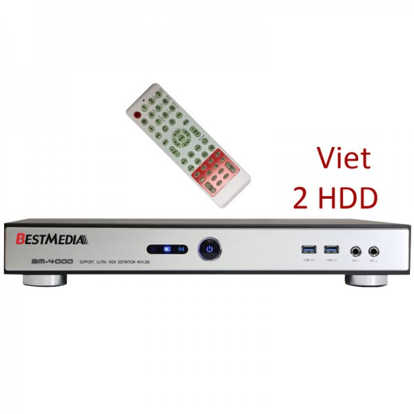 BM-4000 Vietnamese & Chinese KTV Player (8TB)