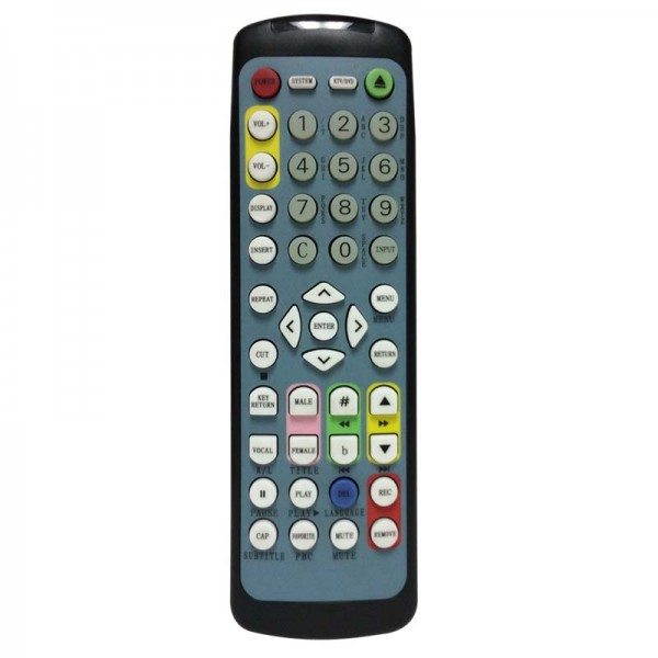 Best Media BM-1000 / BM-1000II English Remote Control
