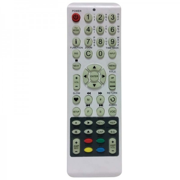 Best Media BM-2000 English Remote Control