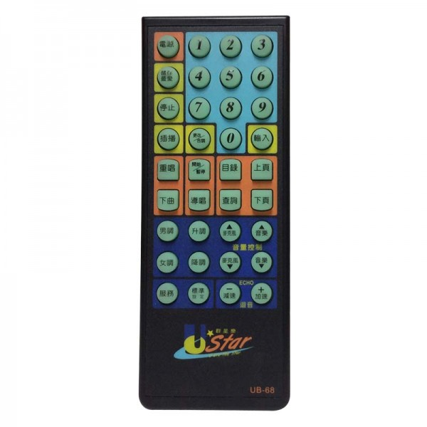 U-Best DA168/268 Chinese Remote Control (Small)