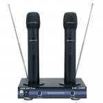 VocoPro VHF-3300 2 Ch. Rechargeable Wireless Microphone