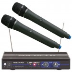 VocoPro UHF-3200 Dual Channel Wireless Microphone